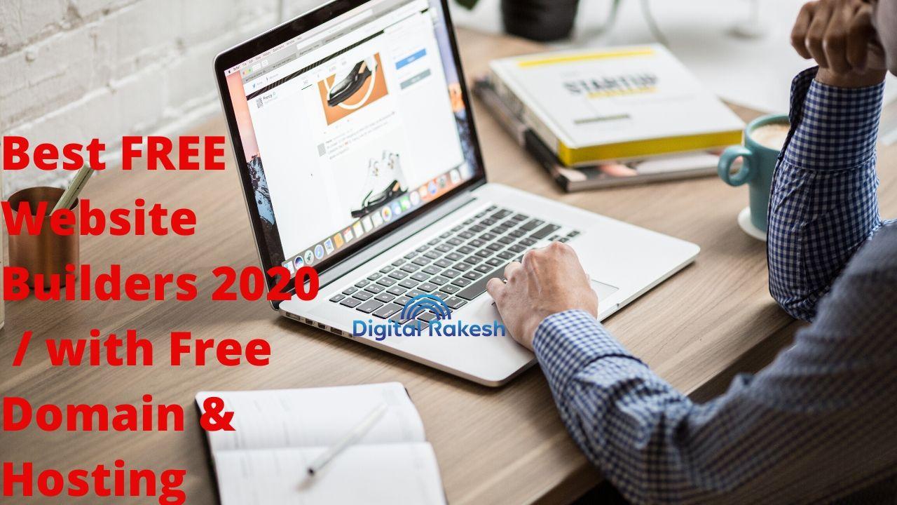 Best FREE Website Builders 2020
