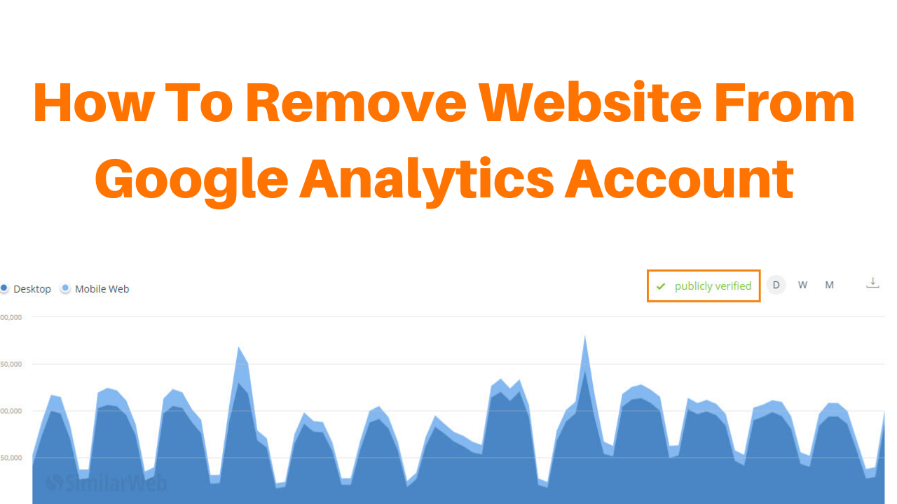 How to remove website from google analytics account