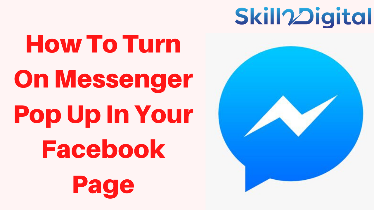 How To Turn On Messenger Pop Up In Your Facebook Page  facebook business page tutorials