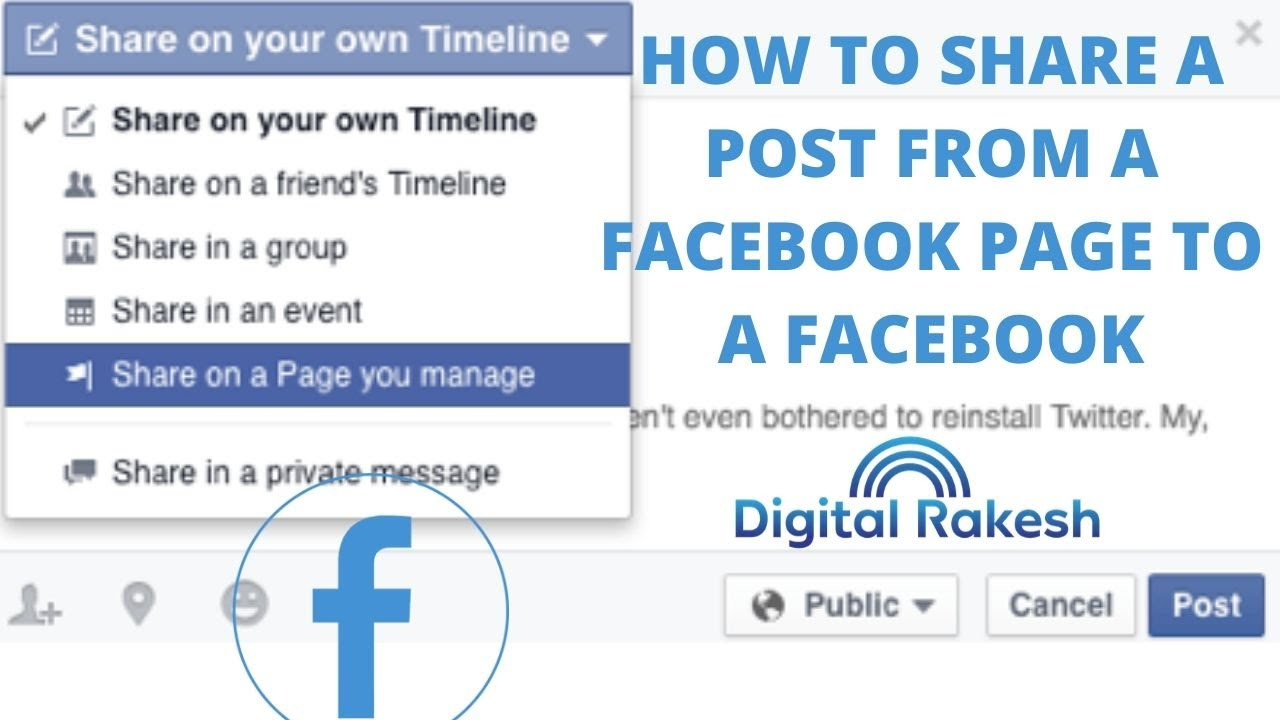 How do I share posts from my Facebook group to the Page its linked to