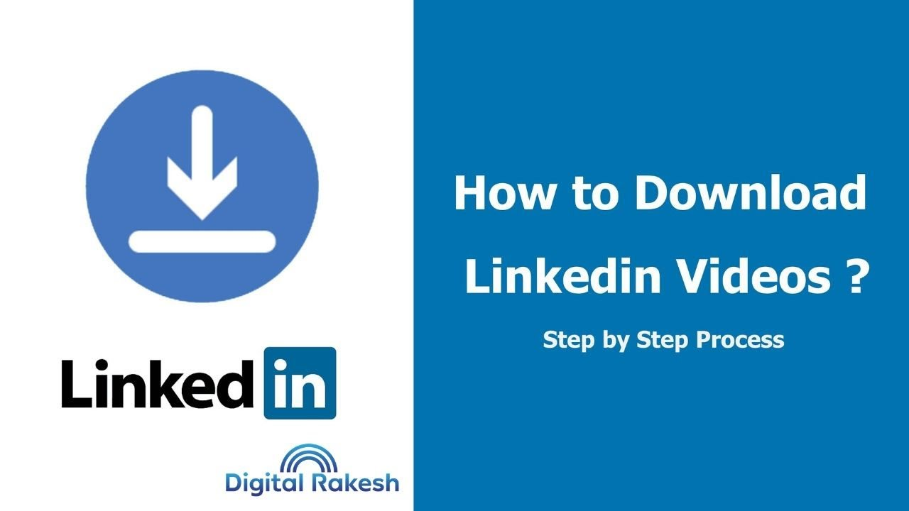 How to Download LinkedIn account Video