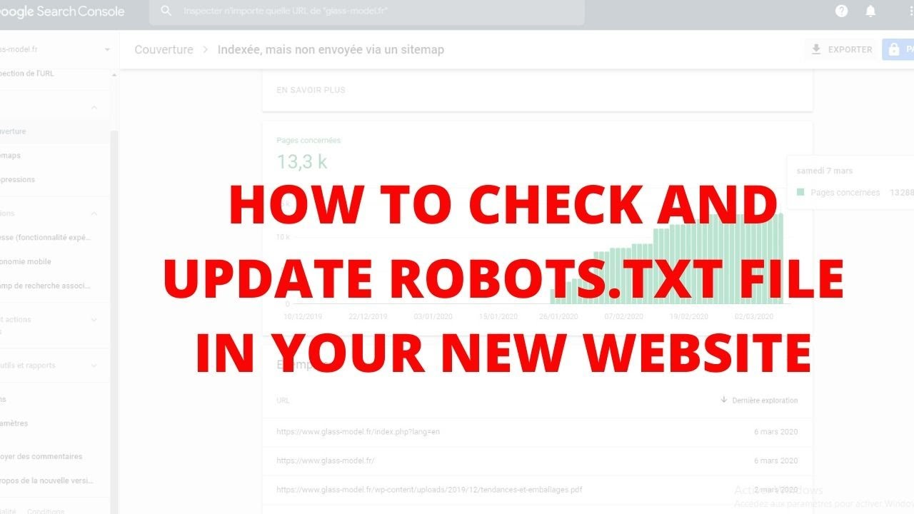 How to check and update robots.txt file in your new website