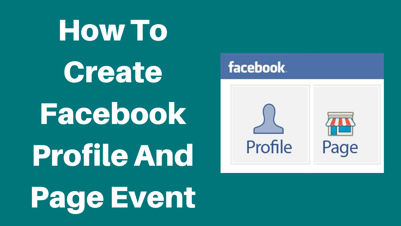 How to create facebook profile and page event