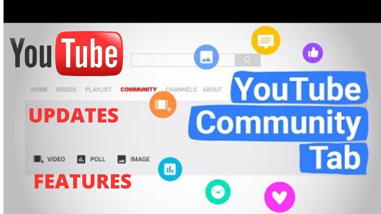 How to post and updated features on YouTube channel community tab