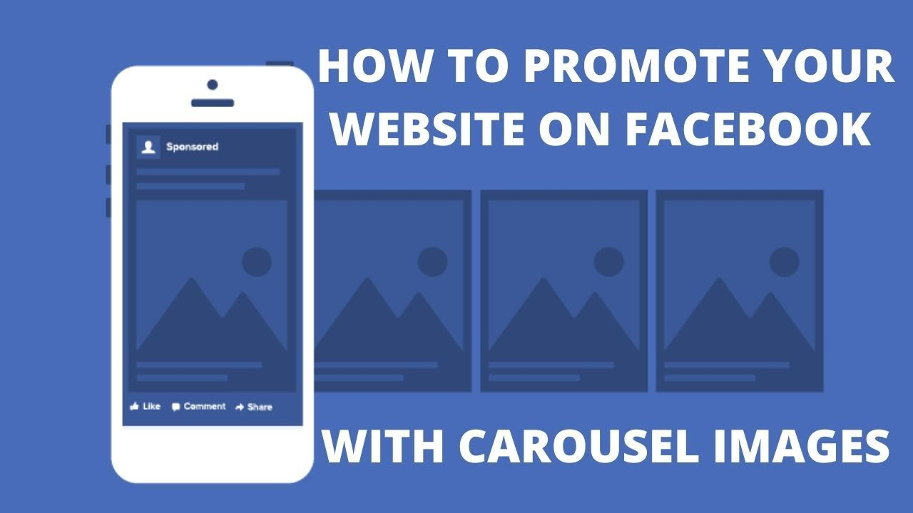 How to promote your website on Facebook with carousel images