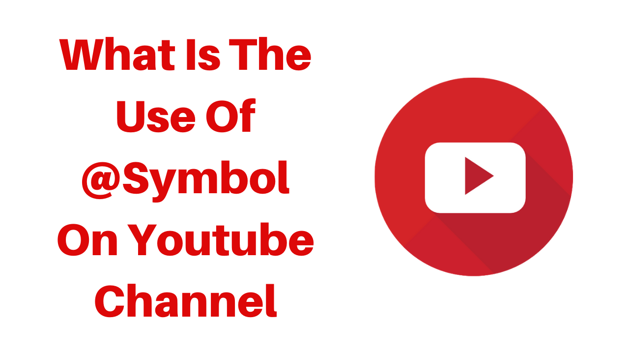 what is the use of trend socialmedia symbol on youtube channel
